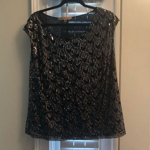 Nipon Boutique 1X Sequin Shell